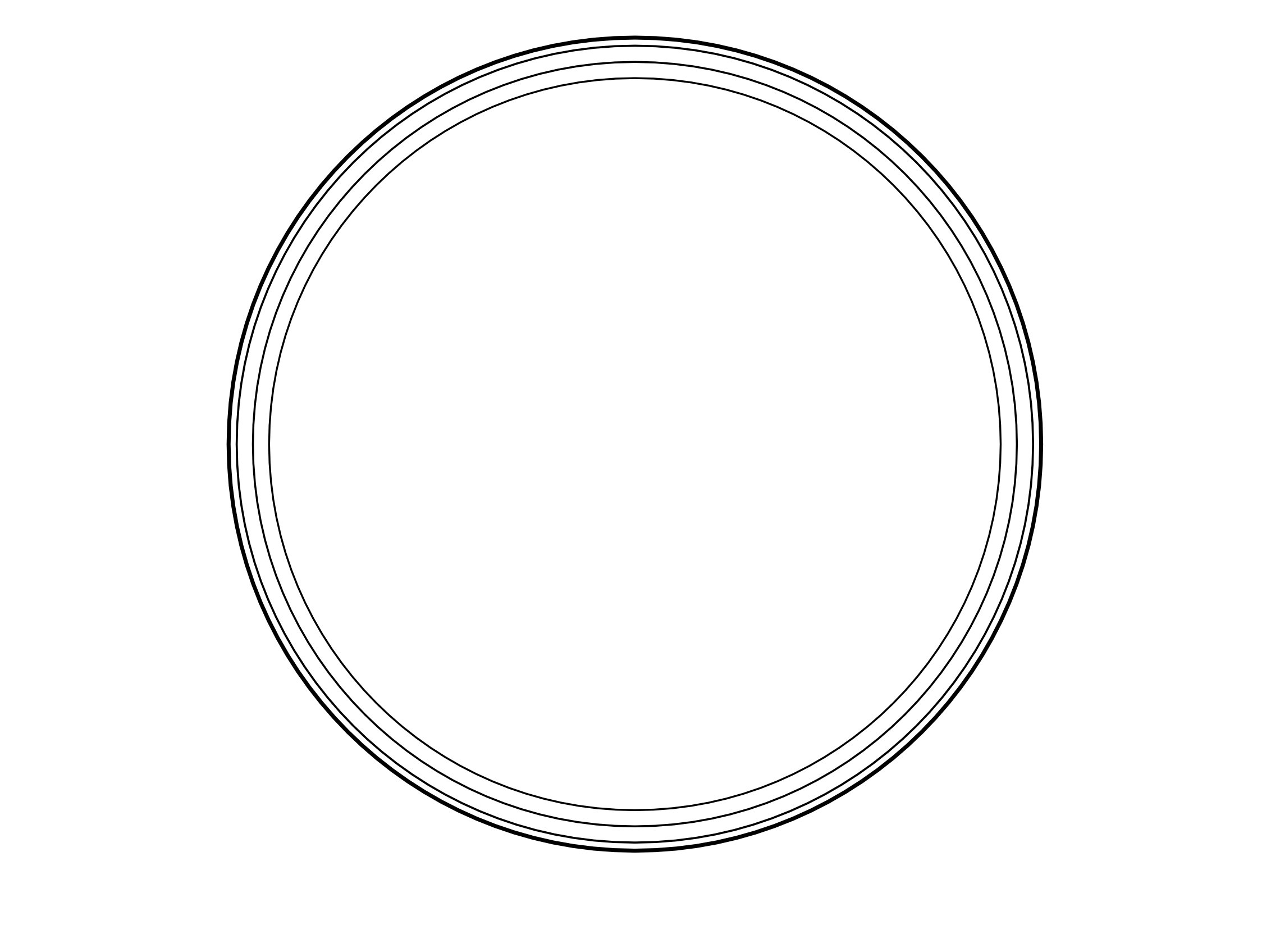 Creative souls here is a blank circle to frame your colouring work ...