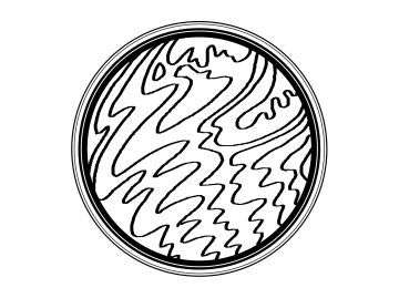 Crop Circles Colouring Pages