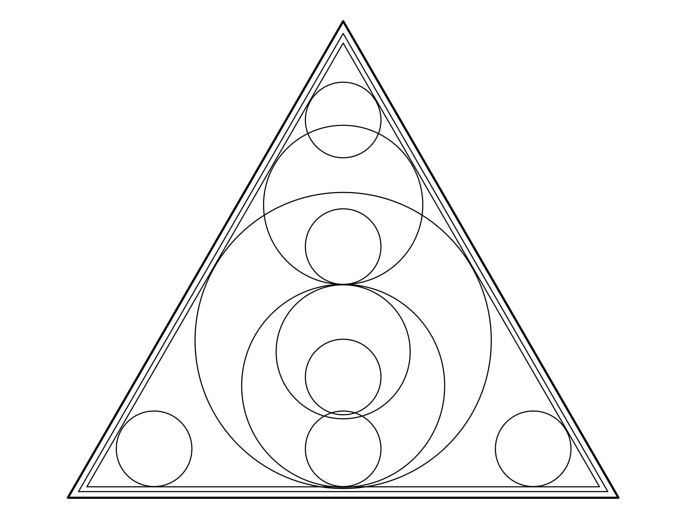 triangleandcircles.png (2264×1695) Geometric coloring