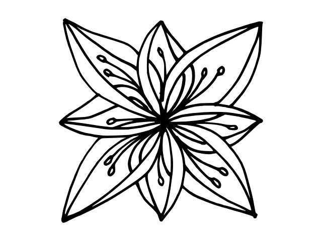 flower geo 6