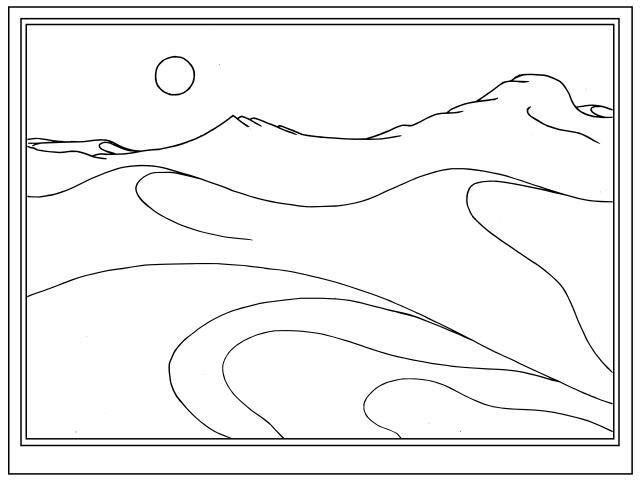 Sea Land framed