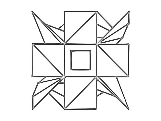 symmetry 1 par hollow