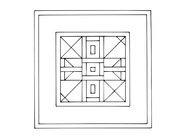s line of symmetry coloring pages - photo #35