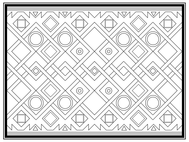 line patterns coloring pages - photo#15