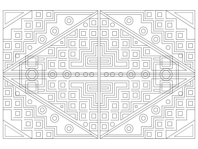 geometric repeat 3