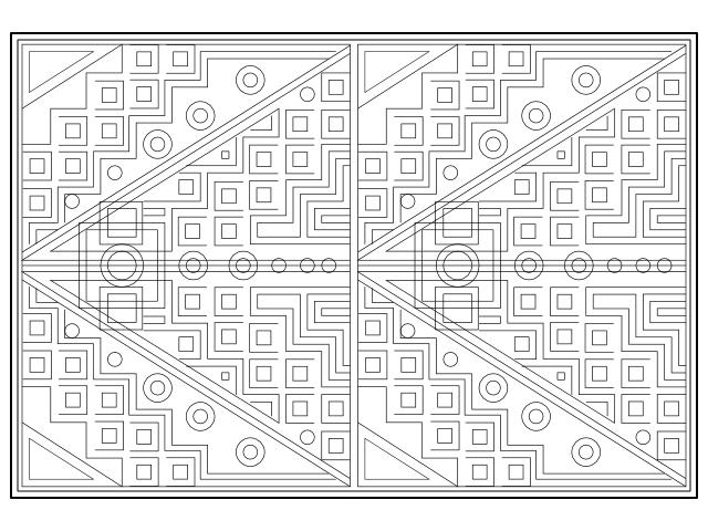 geometric repeat 4