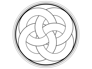 knotted circles four