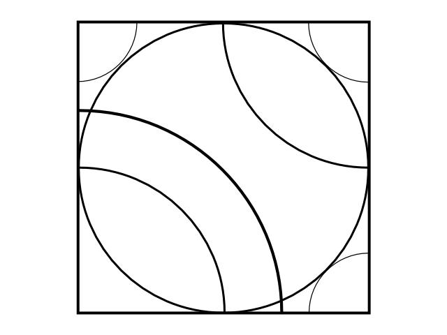 Geo repeat circle template