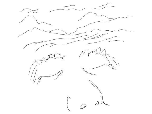 Sleep-ing Mountains 640x480px 90dpi