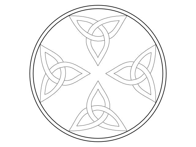 STAR FRAME CELTIC TRI-4 png