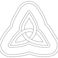 How To Draw A Celtic Triangle, or Knot...
