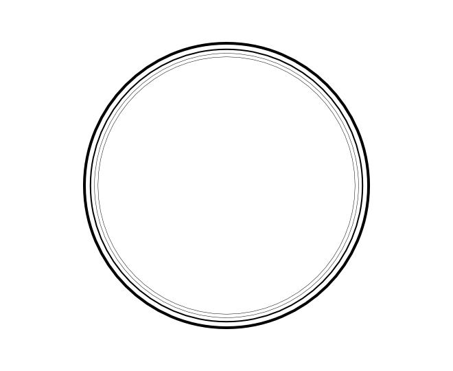 blank frame circles 1