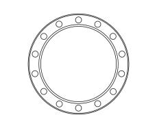 blank frame circles 10