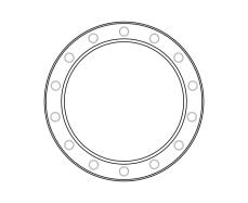 blank frame circles 11