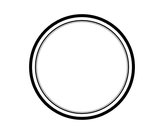blank frame circles 2