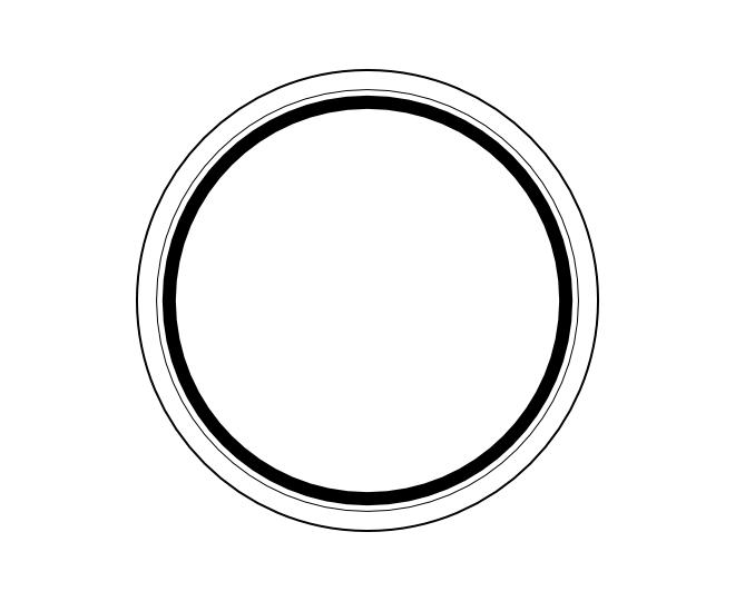 blank frame circles 3