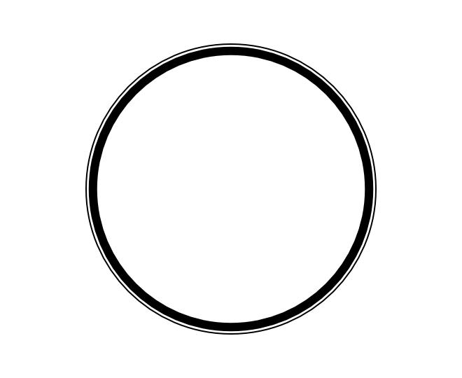 blank frame circles 4