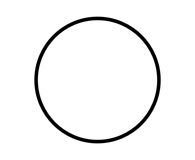 Free Coloring Pages Of One Empty Circle