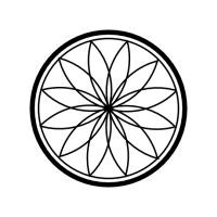 Geo Roundel Flower No. 5
