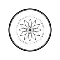 Geo Roundel Flower No. 6