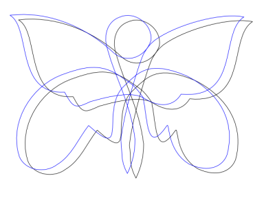 knotted butterfly 3
