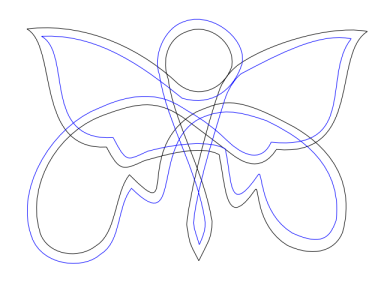 knotted butterfly 4