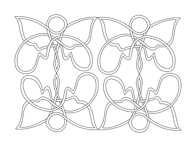 knotted butterfly 7