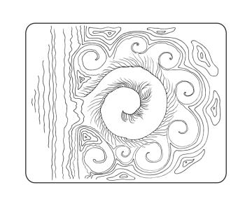 Koru wildersoul colouring book