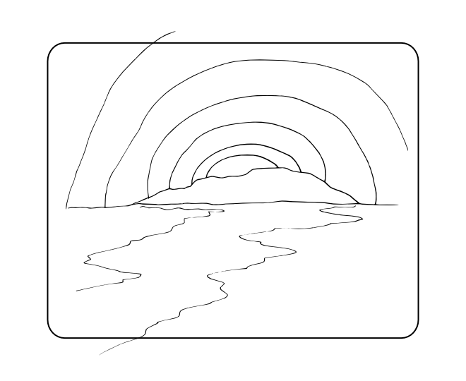 sunrise coloring pages - photo#11
