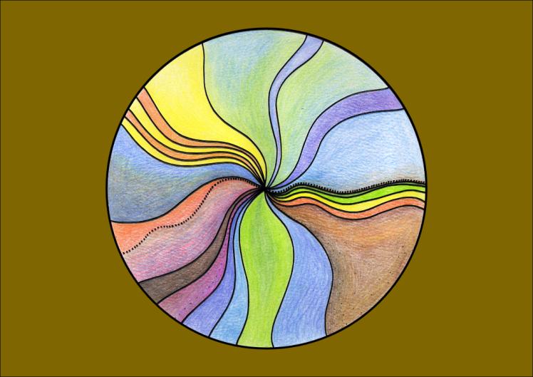 mandala1 colour A4