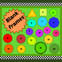 Blank Frames: Three-sided to twenty-sided!