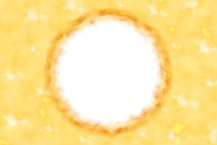 colourful circle frame 2