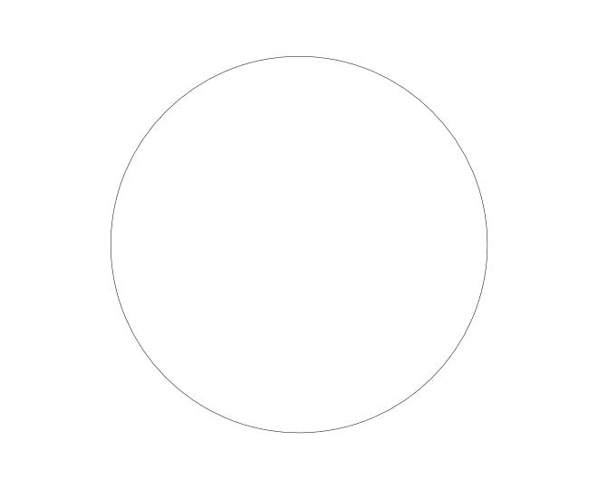 blank frame circles 6