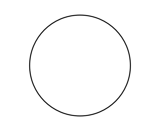 blank frame circles 7